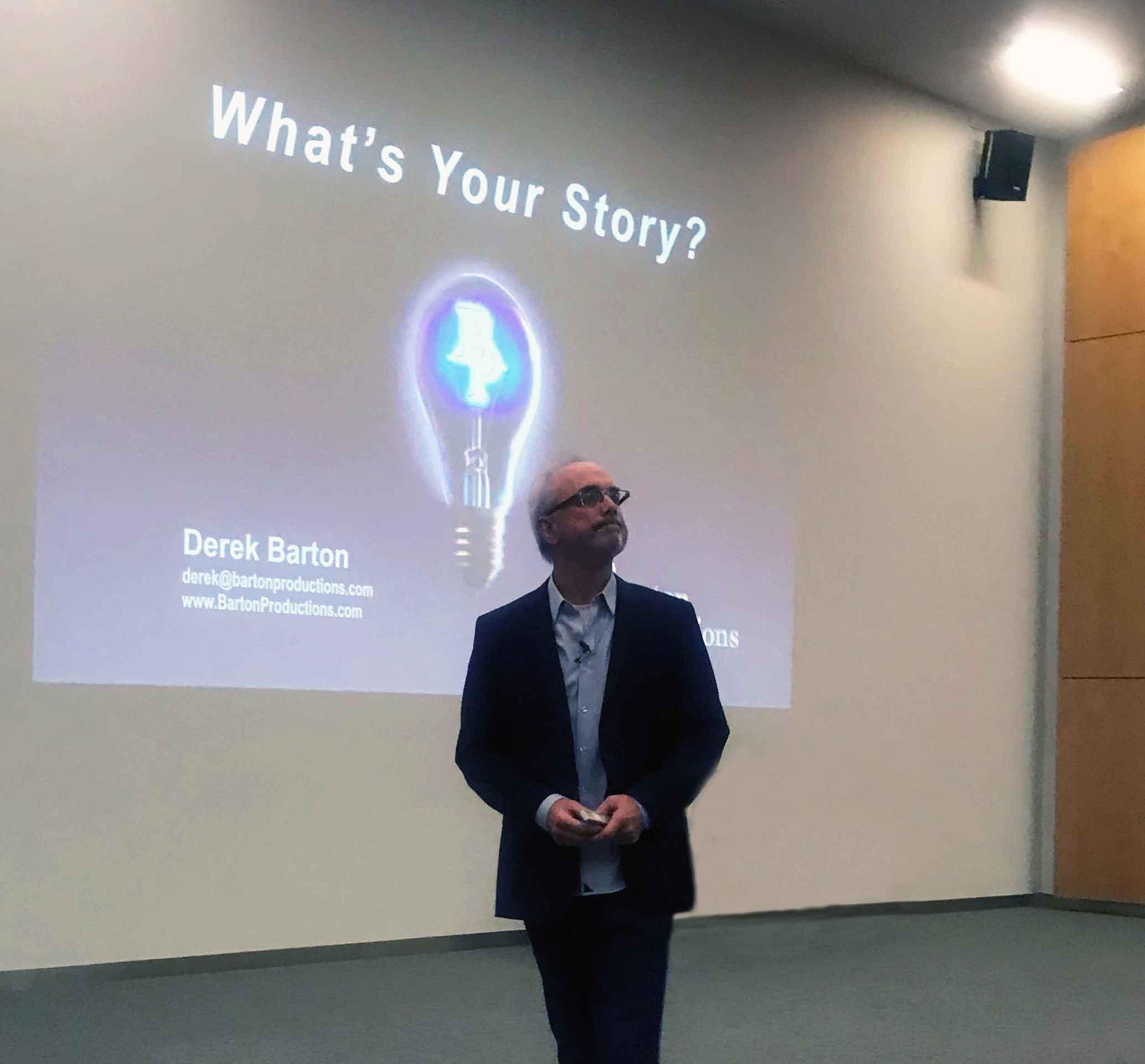 Derek Barton - Barton Productions Keynote